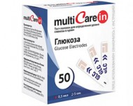 Тест-полоски МультиКэйр Глюкоза №50 (MultiCare-in Glucose)
