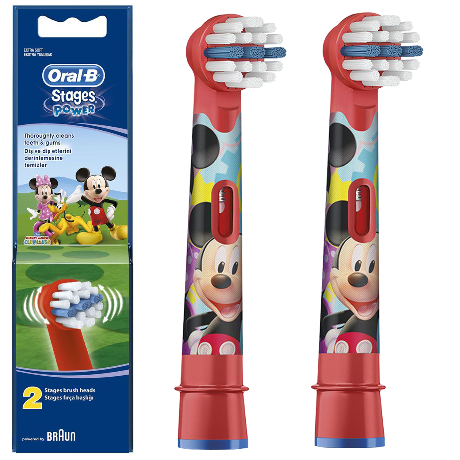 Braun Oral-B Stages Kids EB10 Микки Маус